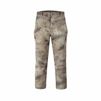 Wholesale Outdoor Shark Skin Soft Shell Pants Men Climbing Camping Hiking Fishing Climbing Pants Waterproof Pants Tactical Military Fans