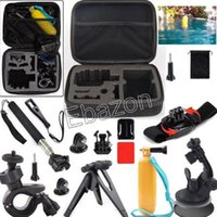 Wholesale 13 in Gopro Travel Kit Accessories shockproof carry case Monopod For Gopro Hero Action Camera