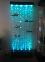 ark shoes - Crystal screen LED colorful color water dance bubble wall Dancing water screen Water screen water curtain wall partition shoe ark water danc