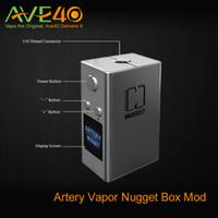 gold nugget - Gold Rush Nugget Box Mod mah by Artery Vapor Artery Nugget W TC Mod DNA Vapes VS electronic cigarettes COV MINI VOLT MOD W