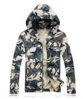 Wholesale New Fashion Men ultralight Teenagers Thin hooded Camouflage Fishing clothing Coat Men s Cothing Mesh lining Casual jacket