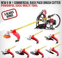 Wholesale 52CC back pack model grass trimmer whipper snipper
