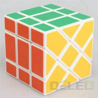 Wholesale Brand YongJun X3X3 Square King Fisher Cube Skew Magic Cube New Plastic Cubes Puzzle Education Toys Gift