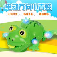 Wholesale 2017 hot style electric universal frogs Strip light music stalls selling retail strange new toy