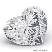 Wholesale 5 CT E VS1 Ex Polish Heart Shape GIA Earth Mined Diamond x12 x6 mm