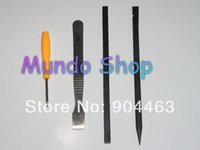 Wholesale For iPhone s s Repair Kit Tool With Pentalobe Screwdriver Nylon and Metal Scraper Spudgers Economy