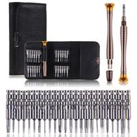 Wholesale New in Precision Torx Screwdriver Wallet Repair Tool Set Multi Tool Herramientas For iPhone Laptop Cellphone Electronics PC