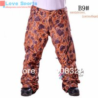 Wholesale Newest High Quality AK P1 Snowboarding Pant Ski Pant Different Color Skiing Pant for Men