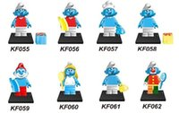 avengers assemble movie - KF055 Building Blocks Super Heroes The Avengers Cartoon Movie Girl Friends Minifigures Assemble Single Action Kids Toys Mini Figures