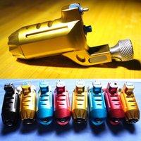 Livraison gratuite BJT nouvelle alliage d'aluminium CNC rotatoire tatouage mitrailleuse suisse Moteur Gun Shader Liner