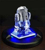 Wholesale 2015 Star Wars Metal Earth R2 D2 Droid Robot D Puzzle Laser Cut Model Jigsaws toys for children baby toy gift architecture NEW