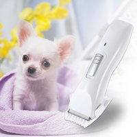 Wholesale cachorro chien Low Noise Electric Rechargeable Pet Dog Cat Clipper Hair Trimmer Hair Cutter Shaver Hairdressing Grooming Tool