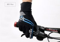 Wholesale 2016 XINTOWN MTB Breathable Full Fingers Cycling Gloves Thick Skidproof Wearable Bike Gloves Slip High Quality