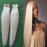 Wholesale Platinum Blonde Virgin Hair Skin Weft Tape Hair Extensions Brazilian Virgin Hair Tape in Human Hair Extensions g Tape in mrs hair