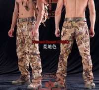 Wholesale Outdoor Army Hunting Clothes Men s Military Snake Camouflage Tactical Pants Mens Mandrake Typhon Grain Printing Trouser