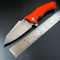 Wholesale High Quality Snake head G10 folding knife Imitate Medford knife Use cr steel Hardness HRC ball bearing knives outdoor tool