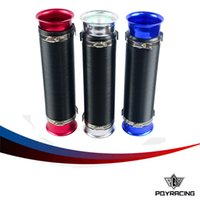 Wholesale PQY STORE Universal mm Turbo Multi Flexible Air Intake Pipe sliver red blue