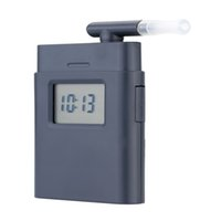 alcohol time - Factory Prefessional Mouthpiece Breath Alcohol Tester with Time Display Mini Pocket Breathalyzer Alkohol