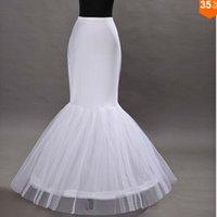 Wholesale Cheap Hot Sale Mermaid Wedding Petticoat Bridal Accessories Underskirt Crinoline Petticoats for Wedding Dresses