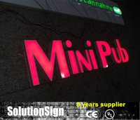 Wholesale 3d advertising outdoor led lighting sign letters
