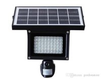 Wholesale Solar Lamp P Hidden DVR Camera Card LED Floodlight PIR Motion Detection Recording Video HD CCTV Security