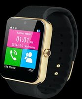 advanced wrist watch - Advanced Android iPhone iwatch A8 GT08 Smart SIM Intelligent mobile phone watch can be time record the sleep state GT08 Smartwatch