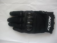 Wholesale Back shell Motorcycle Gloves cowhide
