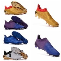 ankle grinding - New Arrival Football Soccer Shoes X Purechaos Firm Ground Cleats Cheap Football Boots Soccer Boots High Ankle Soccer Cleats Mens FG AG