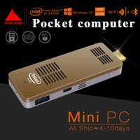 Wholesale Mini Pc Small Quad Core Atom Intel Z8300 Windows Wifi Usb Bluetooth TV BOX Fan Cooling Compute Stick Computer Office Mini