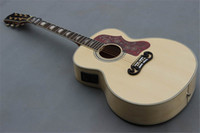 Wholesale Hot selling Plywood Spruce acoustic guitar Maple side and back inch acoustic electric guitar Chinese guitar in stock guitars