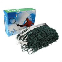 Wholesale Good deal Green Deluxe Badminton Net With High Quality Sports Accessory Mesh about x cm