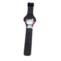 belt screen printing - Customized Pattern Watch Cartoon Cats Printed Watch Students LED Digital Touch screen Watch Extra thin Printed Belt Wrist Watches