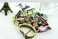 american plastic cups - European Cup lovers bracelet new style fashion fans bracelet color cheap jewelry bracelet