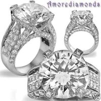 antique platinum ring - 13 ct K VS round brilliant natural diamond engagement antique ring platinum