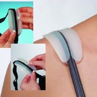 Wholesale New Pair Silicone Non slip Shoulder Pads Bra Strap Cushions Holder Pain Relief