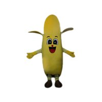 bananas music - Yellow Banana Mascot Costume Cartoon Character Adult Size Longteng TM