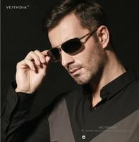 aluminum mercury - VEITHDIA brand Men s Polarized Sunglasses Mercury coated anti reflection Aluminum magnesium alloy frame outdoor protect Anti Glare glasses