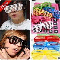 Wholesale Shutter Glasses Full Shutter Glasses Sunglasses Glass fashion shades for Club Party sunglasses