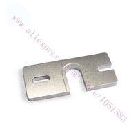 aluminum printer sheets - 2Pcs Reprap HotEnd Aluminum groove mounting plate for Makergear d printer DIY Prusa Extruder J head gasket sheet