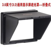 Wholesale A inch widescreen Popup shade Lcd hood for screen cover protector Canon D D D D D Da camera Digital A WII