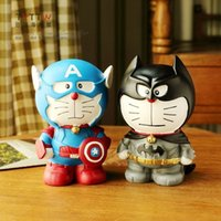 bank of america - NEW Avengers series of America Piggy bank Doraemon to the captain the high quality resin Piggy bank Home Furnishing ornaments