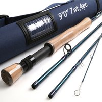 Wholesale Maxcatch K SK Carbon Fiber FT WT Fast Action With Cordura Tube Carbon Fly Fishing Rod
