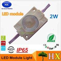 best led signs - Best High Power W LED Modules Light SMD With Lens DC12V LED chip light For LED sign Light Box