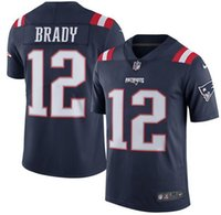 active navy - 2016 hot sale new arrive men New England cheap Patriots Stitched navy blue Julian Edelman Color Rush Limited Jersey size S XL