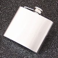 Wholesale 5 ounce stainless steel hip flask alcohol flask pocket flask wine flask liquor flask Stainless Steel Pocket Hip Flask hot