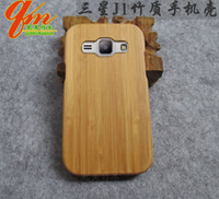 bamboo mobile - Pure wood back case for samsung galaxy J1 mobile phone cover wooden case shell protective hard cover bamboo for samsung j1 new arrival