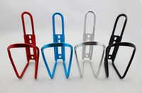 aluminum drink holder - 5 Colors Aluminum Alloy Mountain Bike Water Bottle Cage Bicycle Cycling Drink Water Cages Rack Holder Bike Accessories Water cup holder