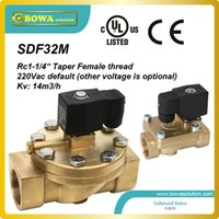 Wholesale Rc quot NPT BSP GHT Thread Solenoid Valves for liquid suction and hot gas lines with fluorinated refrigerants