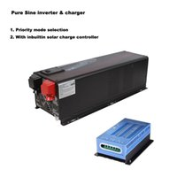 ac charge controller - Emergency Light Solar Inverter KW V V Built in A A MPPT Solar Charge Controller AC Solar Priority