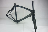 Wholesale Carbon Frame Bicycle Frame Orange Painting K Weave With Bottom Frame Glossy Matt CM